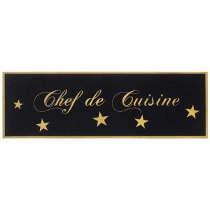 Πατάκι Κουζίνας 746 Chef De Cuisine Gold
