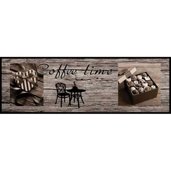 Πατάκι Κουζίνας 642 Coffee Time Wood