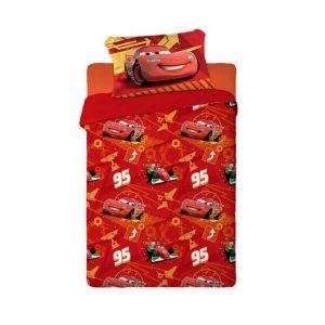 Σετ σεντόνια μονά Disney CARS 1023 LIMNEOS