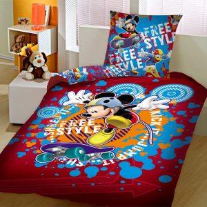 Σετ σεντόνια μονά Disney πανό MICKEY 1026 LIMNEOS