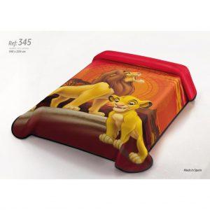 Κουβέρτα DISNEY 345 LION BELPLA