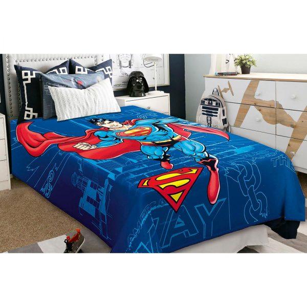Κουβέρτα μονή 160Χ220 SUPERMAN Belpla