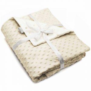 Βρεφική κουβέρτα Soft Toppy Beige PIERRE CARDIN