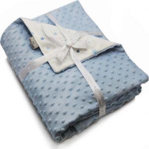 Βρεφική κουβέρτα Soft Toppy Blue PIERRE CARDIN