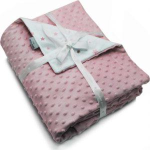 Βρεφική κουβέρτα Soft Toppy Rose PIERRE CARDIN