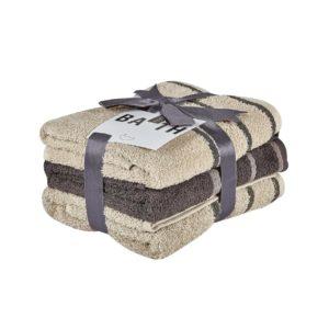 Πετσέτες προσώπου 50Χ90 σετ 3 τεμ. ZANA 12 KENTIA