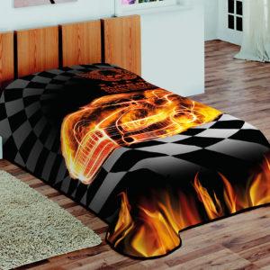 Κουβέρτα μονή Art 1167 Burn BEAUTY HOME