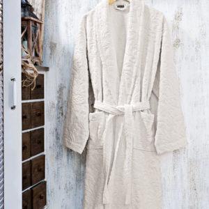 Μπουρνούζι με γιακά ζακάρ Art 3180-2 BEAUTY HOME