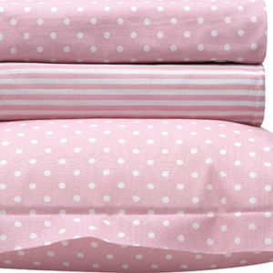Σετ σεντόνια βρεφικά Art 5132-Pink BEAUTY HOME