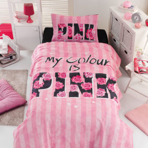 Σετ σεντόνια μονά Pink 6113 BEAUTY HOME