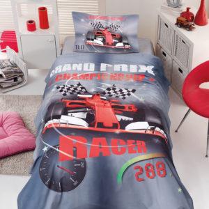 Σετ σεντόνια μονά Racer 6115 BEAUTY HOME