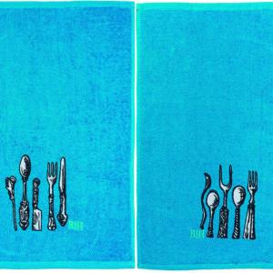 Ποτηρόπανα σετ 4τμχ Cutlery BEAUTY HOME