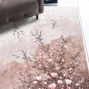 Χαλί Dream Art 9001 130Χ190 - Μπεζ, Ροζ Beauty Home