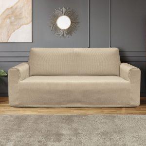 Ελαστικό κάλυμα τριθέσιου καναπέ σε 5 χρώματα - Sand Beauty Home