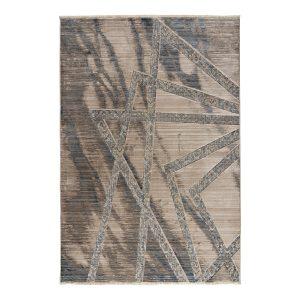 Πατάκι Bliss Art 9626 0.67x2.20 Μόκα, Μπεζ, Μπλε Beauty Home.