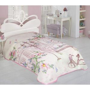 Κουβέρτα μονή Art 6107 - 160x220 Εμπριμέ Beauty Home