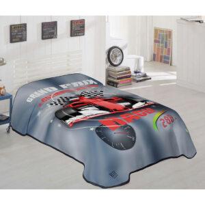 Κουβέρτα μονή Art 6115 - 160x220 Εμπριμέ Beauty Home