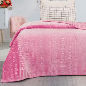 Κουβέρτα μονή φωσφορίζουσα Art 6134 – 160×220 Εμπριμέ Beauty Home