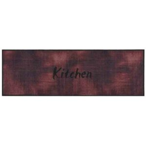 Πατάκι Κουζίνας 50X150 Cook & Wash 201 kitchen burgundy SDIM