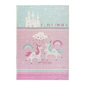 Χαλί Cool Art 9543 Μέντα, Ροζ Beauty Home
