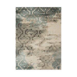 Χαλί χειμερινό 165×230 RETRO 9338A Blue kouliscarpets