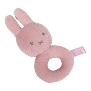 Υφασμάτινη κουδουνίστρα 47-3611 pink Μiffy